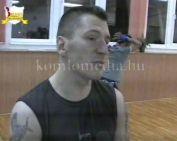 Thai box gála Komlón (Gáspár Zsolt, Vulics József, Bogdán Csaba)
