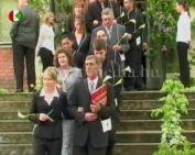 Középiskolai ballagás 2007.