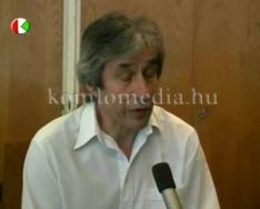 Jótékonysági koncert a színházban (dr. Szabó Szabolcs, Kiss László)