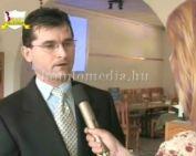 Előadás a világbékéért (Krebsz Tibor, Dr. Földesi Tamás, Fábry Gabriella)