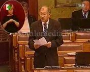 Páva Zoltán parlamenti felszólalása (Páva Zoltán)