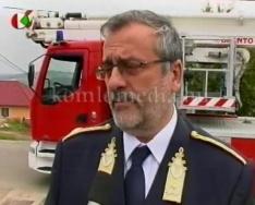 Városunkba látogatott Dr. Tatár Attila a tűzoltó altábornagy (Dr. Tatár Attila)