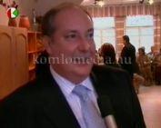Dr. Kiss Péter kancellária miniszter komlói látogatása (dr. Kiss Péter)