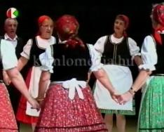 Regionális nyugdíjas találkozó a színházban (Sipos Imréné, Páva Zoltán)