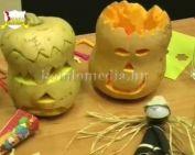 Kézműves foglalkozás az őszi szünetben (Huckné Schmeller Enikő, Botházi András, Érsek Noém