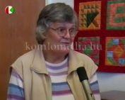 5 éves a komlói Foltvarró Műhely (Leopoldné Lázár Gizella)