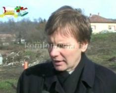 Komló környezetvédelmi lehetőségei, a gesztenyési szemétlerakó kérdése (Fodor Gábor, Mátyá