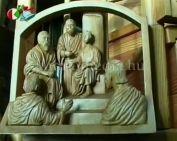Görföl Tibor karácsonyi ajándéka a rászorulóknak(Görföl Tibor, Dr. Papp Lajos, Orsós Györg