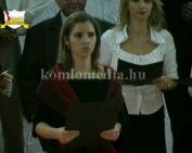 Rendhagyó karácsonyi műsor a Nagy László Gimnáziumban (Dunai Péter)