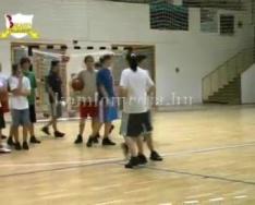 Évértékelés a női kosárlabda szakosztálynál (Egri Nándor)