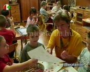 Iskolaérettségi vizsgálat az óvodásoknak (Kunszt Andrea)