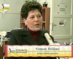 Betanított papírfeldolgozói vizsga (Simon Béláné, Farkas Magdolna)