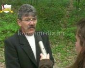 Lakossági fórum Gesztenyésben (Mátyás János)