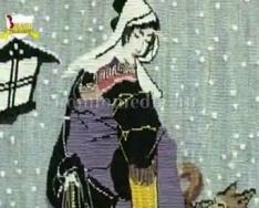 Papp Zsuzsanna szőtt fali kárpit kiállítása (Bordácsné Kishonti Erika)