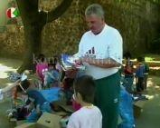 Varga István adományai óvodás gyerekeknek