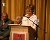 A Komlói Napok 2008 ünnepélyes műsorai (Páva, Dr. Szili, Dr. Gyenesei, Rajnai, Jakab)