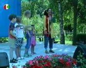 Mánfai falunap 2008 (Hohn Krisztina, Holtner Barbara, Daru Szilvia, Rózsa Hajnalka)