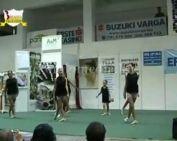 Bemutatkozik a Fonti 5 táncegyüttes (Takács Judit, Borbály Viktória)