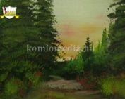 Festőpalánták kiállítása Sikondán (Nesó Bernadett, Kucsár Rozál)
