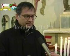 A Karácsony eredetéről beszélgetünk a katolikus plébánossal (Mátyás Imre)
