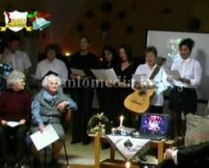 A Szent Borbála Otthon karácsonyi műsora