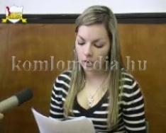 Országos anekdota verseny nyertesei (Vass Marianna, Szabó Krisztina, Czár Melinda)