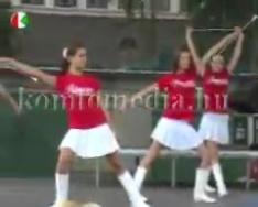 Az erdélyi Baróti Tánccsoport műsora a színpadon