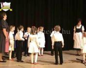 A Kenderföld - Somági Általános Iskola és Óvoda Német nemzetiségi estje