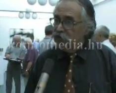 Baranyai művészek kiállítása a Közösségek Házában (Gamus Árpád, Polics József)