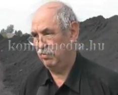 Újraindulhat a bánya a térségben (Verbőci József, Orbán Viktor, Kaufmann Tibor, Polics Józ