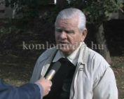 Polgárőr egyesületek Vezetőinek értekezlete volt Sikondán (Deák Imre, dr. Váczi István, Fe