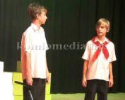 A szilvási iskolások 56-ra emlékező műsora