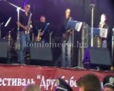 A Blues Taxi Szaxophone Band Kárpátalján koncertezett