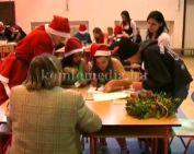Karácsonyi vetélkedő a szakközépiskolában (Jankóné Borostyán Gabriella)