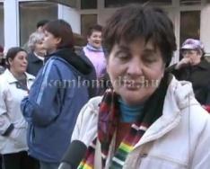Az MSZP szervezésében a kórházért tüntettek (Szakács László, Maglódi Hajnalka, Horváth Ist