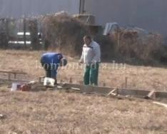Újra elindult a solar cég építése (Antal József, Polics József)