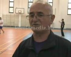 A komlói kézilabda újabb kézilabda csapata... (Baráth Gyula, Németh Norbert)