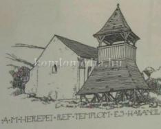 Debreczeni László grafikus kiállítása a Komlói Erdélyi Kör szervezésében (Tamás Attila)