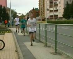 2012 perces futás a DÖKE szervezésében (Balogh Bettina)