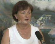 Falun Dafa kiállítás a múzeumban (Fehérvári Ilona)