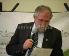 Dr. Ángyán József előadása Pécsett