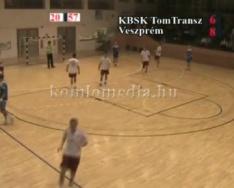 KBSK Komló Tom-Trains -  MKB Veszprém II. férfi kézilabda mérkőzés (2012.november 10.)