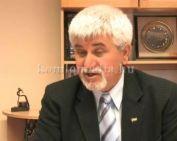 A csatorna beruhásról és az útfelújításról (Polics József)