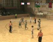 Női NB I-es kosárlabda mérkőzés Pink 424 Pécs - Győr (212.12.09)