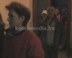A kökönyösi városrész lakói lakossági fórumot tartottak az integráció ellen