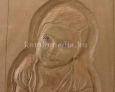 Komló Kökönyösi Fafaragó Kör kiállítása a múzeumban (Gyenizse Gábor)
