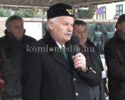 Egykori bányászok tüntettek Pécsen