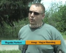 Egészségvédelmi - és Honvédelmi Nap a Nagy L. Gimn.-ban (Szabó Irén, Hegedűs Norbert)