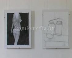 Komlói Fiatal Alkotók kiállítása a múzeumban (Végh Ildikó)