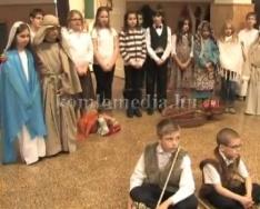 Karácsonyi műsor a Kodály Zoltán Ált. Iskolában